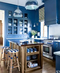 How to Decorate with Blue and White Photos | Architectural Digest