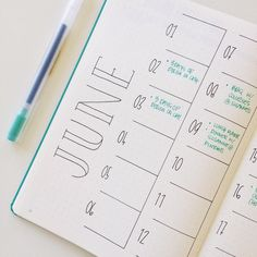 37 Easy Bullet Journal Ideas To Well Organize & Accelerate Your Ambitious Goals Kalender Bullet Journal Bucket List, Bullet Journal Calendar, Bullet Journal Wishlist, Bullet Journal Banners, Bullet Journal Doodles, Bullet Journal Weekly Spread, Bullet Journal August, Bullet Journal Notes, My Journal