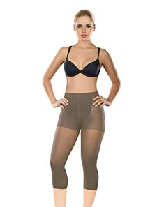ShapEager Shapewear Women Capri Thermal Slimmer Waist Cincher Body Shaper Fajas * More info could be found at the image url.