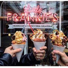 Photo via @breakfastinmelbourne #littlefrankies #melbourne #dessert…