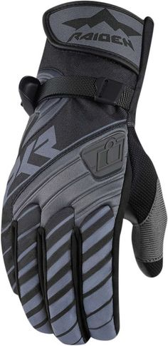 d683116f708 Icon Raiden DKR  Hipora Lined Poly Insulated Neoprene Backhand Ax Suede  Palm Hook and Loop