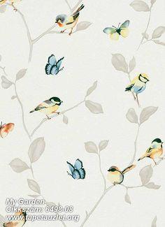 Erismann, vliesová tapeta My Garden rozměry x 10 m :: TapetyZlín Illustrator Tutorials, Adobe Illustrator, Dream Decor, Fabric Wallpaper, Bird Feathers, Painting & Drawing, Wall Murals, Stencil, Pattern Design