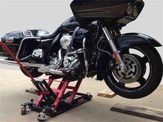 1500LBS MOTORCYCLE LIFT JACK FOOT STEP TYPE