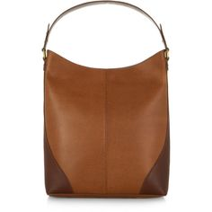 Accessorize Leather Hobo Bag ( 129) ❤ liked on Polyvore featuring bags bc7a36867b7e3