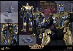 HOT TOYS SMMS280 1/6 MARVEL GUARDIANS OF THE GALAXY THANOS INFINITY WAR FIGURE