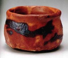 Kato TOKURO (Japanese: 1898-1985) - Akane Shino Chawan (茜志野茶碗 Crimson Shino Tea Bowl 1985)