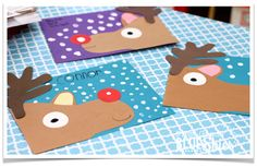 Fun ideas for Reindeer Day in the classroom. Love these adorable reindeer projects.