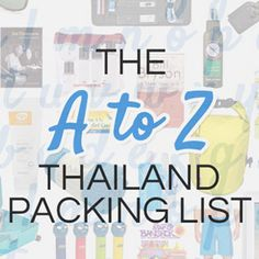 "Since we published the first draft in 2008, our ""What to Pack for Thailand"" advice has been amongst the most popular posts on our site. It makes perfect sense. While hotels, activities and restaurants are subjective choices, packing the wrong kind of shoes will be wrong on every pair of feet. Given the huge demand...Read More »"