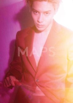 Taemin for MAPS magazine