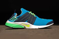 Nice! Reminds me a bit of the Volta Mesh.   Nike 2013 Spring/Summer Lunar Presto Neo Turquoise/Volt