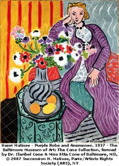 This website has a great interactive activity for kids about Matisse http://www.artbma.org/families/activities.html#