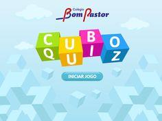 Quiz desenvolvido para os alunos do colégio Bom Pastor onde estes podem escolher entre três níveis de dificuldade e responder perguntas e assim estudar online.