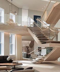 Soho Loft by Gabellini Shepard Associates LLP  New York  Tag who'd live here with you  #thebillionairefamily