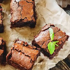 These gluten-free treats are so fudgy and moist, you won't even remember how healthy they are!