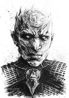 Illustration - Game of Thrones characters on Behance