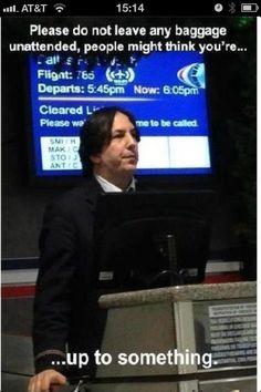 Flight attendant snape