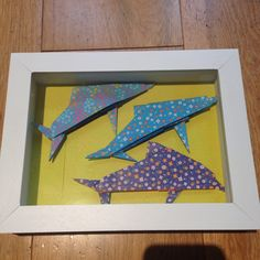 Origami Dolphins