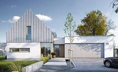 Nowoczesny 1 - wizualizacja 1 - Projekty nowoczesnych domów