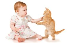 Daily Cute: Cat Calms Crying Baby to Sleep