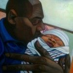 Love! Love! Love!  365 Days with Dads: Our friend Cbabi Bayoc's New Year's Resolution to paint one father figure a day for the entire year. Filling the world with positive images of African American fatherhood.