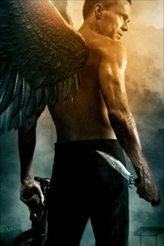 Paul Bettany - wings of the fallen Paul Bettany, Angels Among Us, Angels And Demons, Fantasy Kunst, Fantasy Art, Legion Movie, Male Angels, Angel Warrior, Vampires