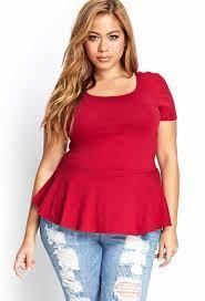 Resultado de imagen para blusas rojas de moda