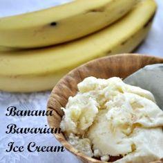 Homemade Ice Cream – Banana Bavarian Ice Cream