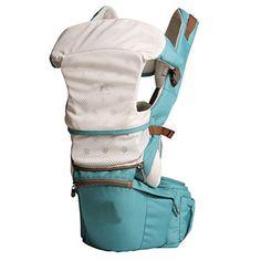 multiposition baby ergonomic carrier sling backpack carrier with hip seat adjustable straps comfort padding for infanttoddler