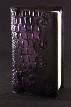 Hey, I found this really awesome Etsy listing at https://www.etsy.com/listing/120954756/leather-journal-purple-journal-night