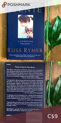 Book 📚 Genie by Russ Rymer True horror child science non-fiction Book Other Yahtzee Game, City Of Ashes, Book City, Farm Games, Malala Yousafzai, Sailor Moon Manga, Margaret Atwood, Science Books, Cassandra Clare