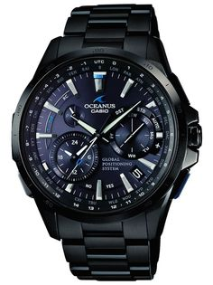 """Three New Casio Oceanus Models To Feature Hybrid Timekeeping System Merging GPS And Radio Signal Syncing - by David Bredan - on aBlogtoWatch.com """"Earlier this year, we brought you news of a fresh G-Shock release, which was Casio's – and in fact the world's – first wrist watch to incorporate a hybrid movement that would allow the watch to sync the exact time both through atomic clock radio signals and GPS satellites. Recently, Casio has announced three new models..."""""""