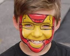 Image result for easy face paintings