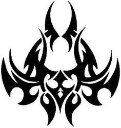 Tribal Tattoos, Wolf Tattoos, Cool Symbols, Red Wallpaper, Scroll Saw Patterns, Runes, Silhouette Cameo, Tatting, Body Art