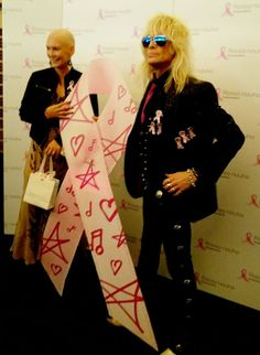 Michael Monroe and Pink Ribbon 2016 - Starbox