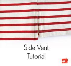 Side Vent Tutorial | Blog | Oliver + S