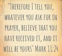 Pray! Believe!