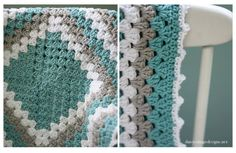 Learn how to make this classic crochet blanket pattern. This large granny square. : Learn how to make this classic crochet blanket pattern. This large granny square crochet pattern is perfect to make for any new mom – including you! Baby Afghan Crochet, Manta Crochet, Crochet Blanket Patterns, Free Crochet, Knitting Patterns, Boy Crochet, Crochet Flower, Crochet Blankets, Knitting Ideas