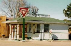 1950's Gas Stations