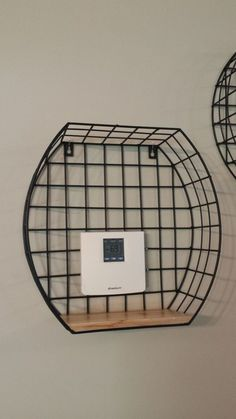 Most thermostats are hidden in a hall way or other inconspicuous place. Mine just happens to be placed on a bare wall that sticks out like a sore thumb. Hide Thermostat, Thermostat Cover, Wood Mosaic, Mosaic Wall Art, Diy Drum Shade, Portable Garage, Farmhouse Blankets, The Knick, Mother Daughter Projects