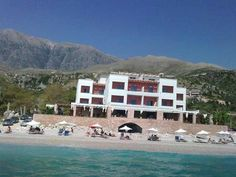 dhermi albania Macedonia, Albania, Montenegro, Grand Hotel, Mansions, House Styles, Beautiful, Home Decor, Mansion Houses
