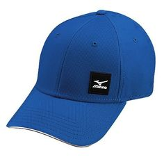 Mizuno Small Block Cap Royal One Size Golf Hat NEW    To view further for dc4ac491ffa