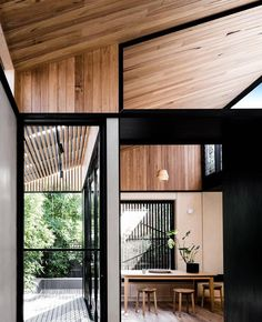 "The Local Project on Instagram: ""A beautiful balance of timber & nature -Light Corridor House by @figr_architecture Built by @grundellaco"