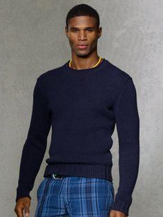 Cotton-Linen Roll-Neck Sweater - Crewneck  Sweaters - RalphLauren.com