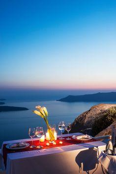 After Sunset in Imerovigli, Santorini