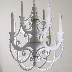 Laser cut chandelier chandelier ideas small wood chandelier laser cut mdf diy by seequin on etsy 20 00 aloadofball Choice Image