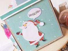 Boîte à explosion Noël - Le scrapauroreblog Explosion Box