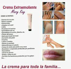 conoce todos los beneficios que la Crema Extraemoliente de Mary Kay nos dan