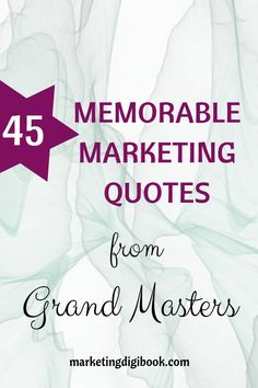 45 memorable marketing quotes from masters. Marketing quotes social media, marketing quotes that are creative and inspirational concerning online content and digital businesses. Get inspired! Content Marketing Strategy, Multi Level Marketing, Social Media Marketing, Digital Marketing, Business Marketing, Online Marketing, Robert Kiyosaki, John Maxwell, Steve Jobs