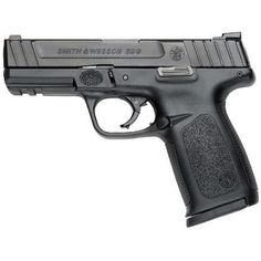 Smith&Wesson SD series pistols. Available in 9mm and 40 caliber. $429.99 at Cabelas. 9mm is 16+1 capacity and 40 cal is 14+1 capacity.