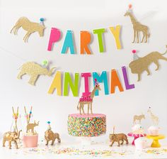 Decorate you Jamboree Party Animal Style! Party Animal Birthday Pack Available Now! Zoo Birthday, Animal Birthday, 4th Birthday Parties, Birthday Ideas, Third Birthday, Disco Birthday Party, Birthday Cake, Circus Party Decorations, Dinosaur Party